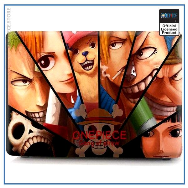 One Piece Laptop Skin  Straw Hat Pirates Crew OP1505 Air 11 A1370 A1465 Official One Piece Merch