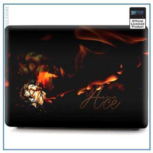 One Piece Laptop Skin  Fire Fist Ace OP1505 Pro 15 A1707 A1990 Official One Piece Merch