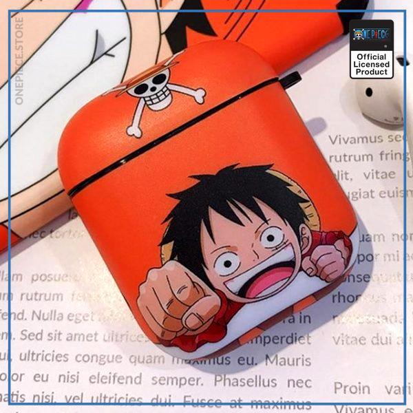 One Piece AirPod Case  Chibi Luffy OP1505 Default Title Official One Piece Merch
