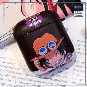 One Piece AirPod Case  Chibi Ace OP1505 Default Title Official One Piece Merch
