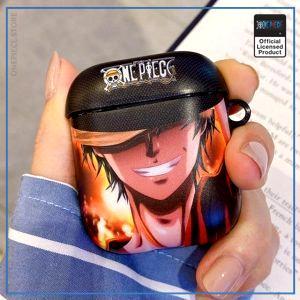 One Piece AirPod Case  Serious Luffy OP1505 Default Title Official One Piece Merch