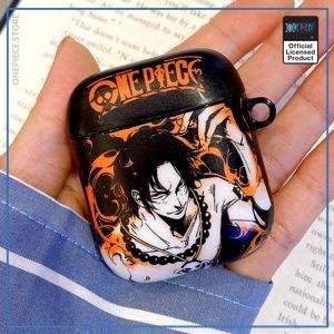 One Piece AirPod Case  Portgas D Ace OP1505 Default Title Official One Piece Merch