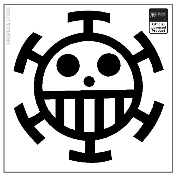 White / 20x20 Official One Piece Merch