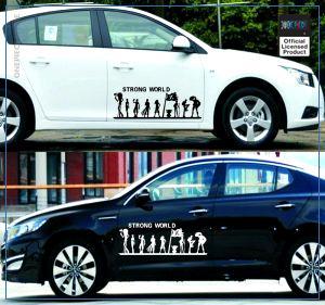 One Piece Car Sticker  Strong World OP1505 Black / 50x14.5cm Official One Piece Merch