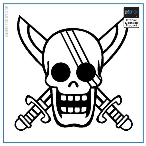 White / 19x18.7cm Official One Piece Merch