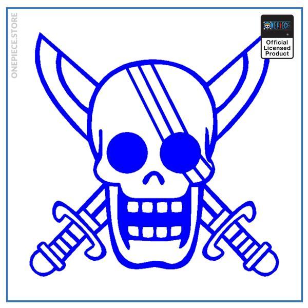 Blue / 19x18.7cm Official One Piece Merch