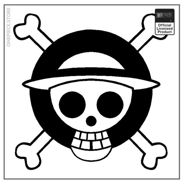 Black / 19x19cm Official One Piece Merch