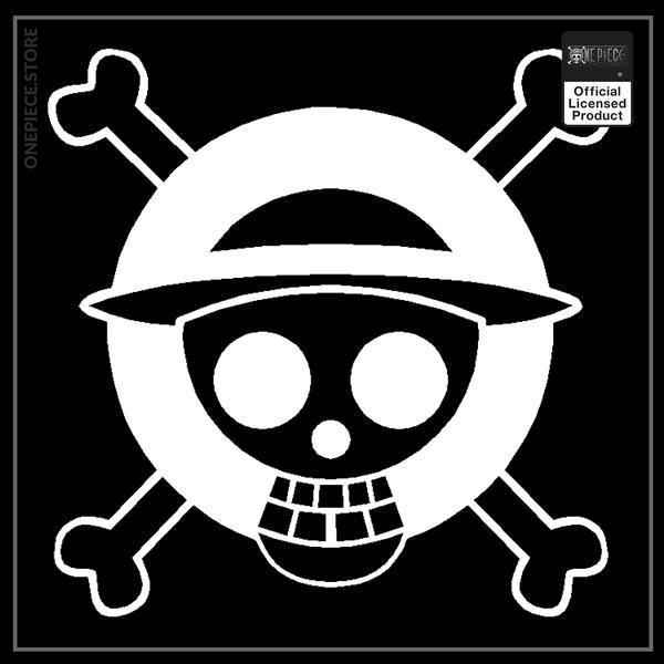 White / 13x13cm Official One Piece Merch