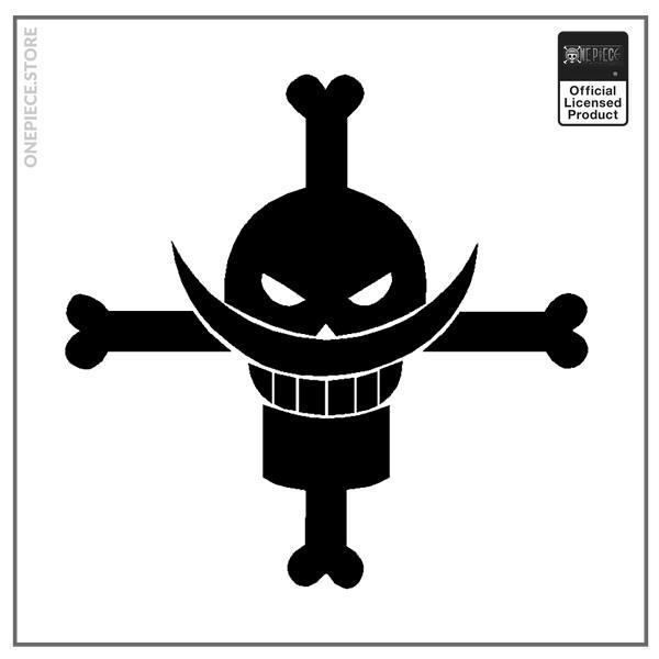 Black / 19x19 cm Official One Piece Merch