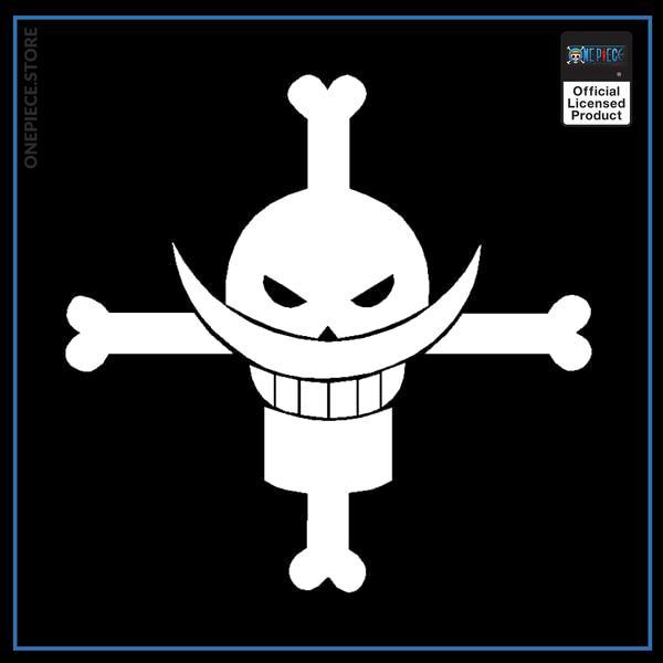 White / 14x14 cm Official One Piece Merch