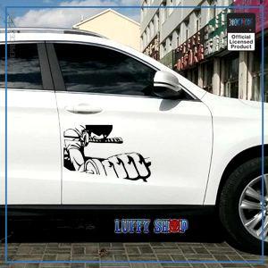 One Piece Car Sticker  Zoro OP1505 Black / 33x21.5cm Official One Piece Merch