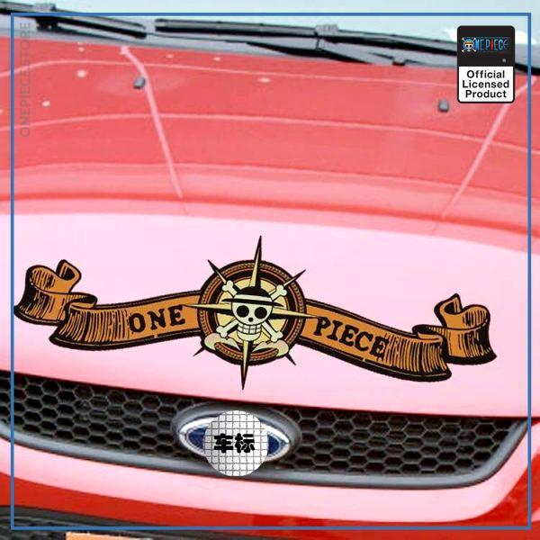 One Piece Car Sticker  Front Sticker OP1505 Small 28x10 Official One Piece Merch
