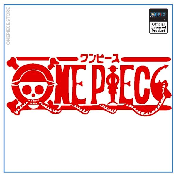 Red / 50x19cm Official One Piece Merch