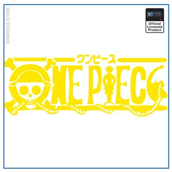 Yellow / 100x38cm Official One Piece Merch