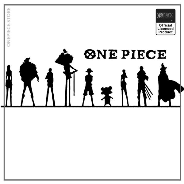 Black / 100x32 cm Official One Piece Merch