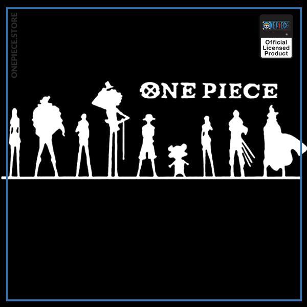 White / 50x16 cm Official One Piece Merch