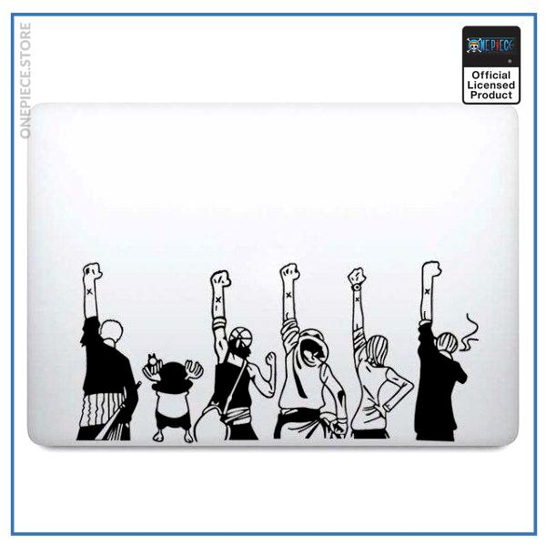 For 13 inch Macbook / Black Decal Official One Piece Merch