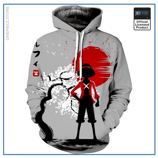 One Piece Hoodie  Luffy Japan OP1505 M Official One Piece Merch