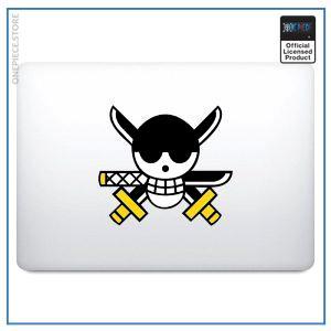 One Piece Laptop Sticker  Zoro Jolly Roger OP1505 For 13 inch Macbook Official One Piece Merch