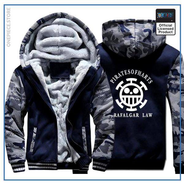 One Piece Jacket  Law (Blue & Grey) OP1505 M Official One Piece Merch