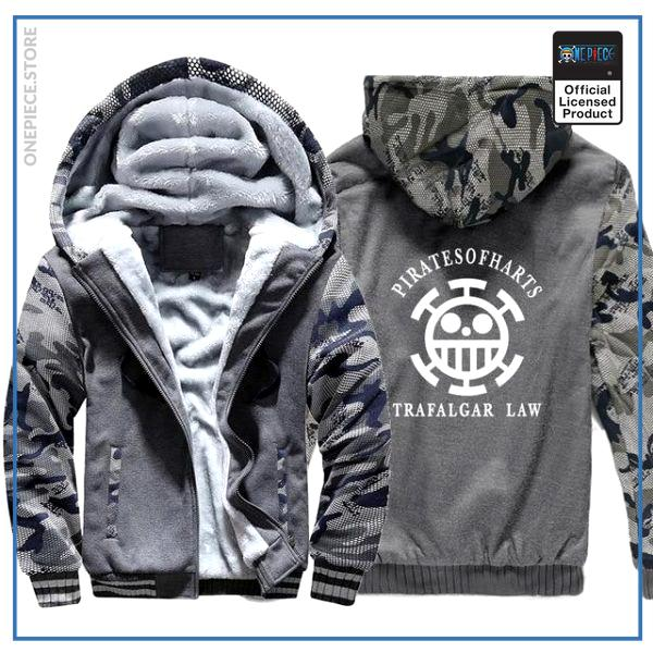 One Piece Jacket  Law (Camo) OP1505 M Official One Piece Merch