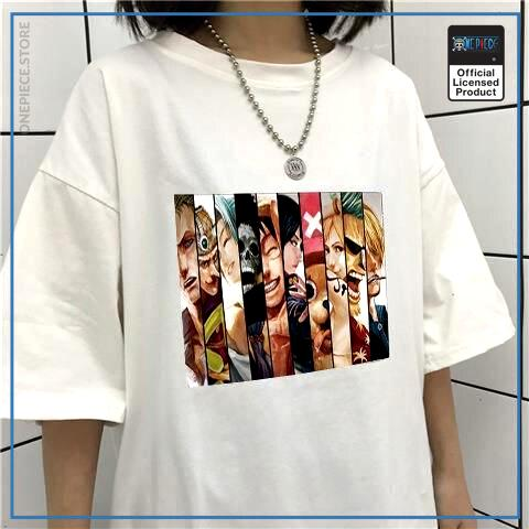 White - Color / M Official One Piece Merch