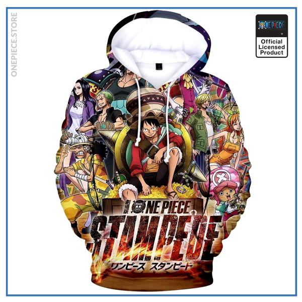 One Piece Hoodie  Stampede OP1505 S Official One Piece Merch