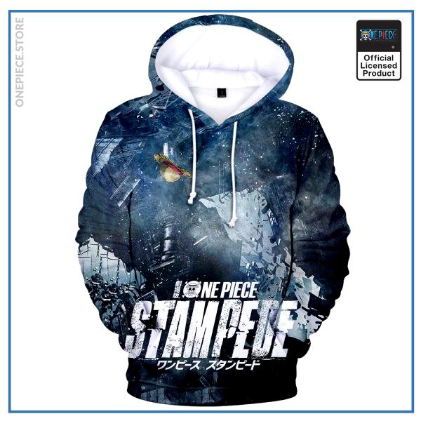 One Piece Hoodie  Stampede Movie OP1505 S Official One Piece Merch