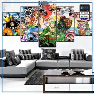 One Piece Wall Art  The Straw Hat Pirates OP1505 Small / No Frame Official One Piece Merch