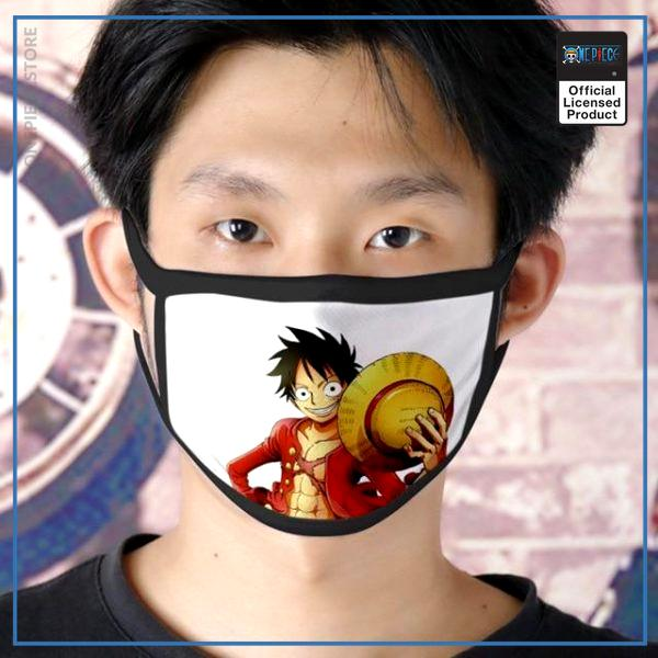 One Piece Face Mask  Pirate King Luffy OP1505 Default Title Official One Piece Merch