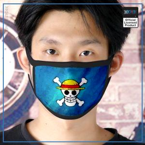 One Piece Face Mask  Straw Hat Jolly Roger OP1505 Default Title Official One Piece Merch