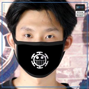One Piece Face Mask  Law Jolly Roger OP1505 Default Title Official One Piece Merch
