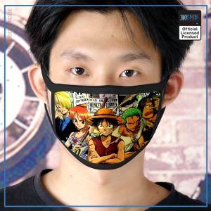 One Piece Face Mask  East Blue Arc OP1505 Default Title Official One Piece Merch
