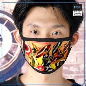 One Piece Face Mask  Straw Hat Crew OP1505 Default Title Official One Piece Merch