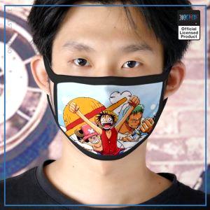 One Piece Face Mask  Chopper Luffy Zoro OP1505 Default Title Official One Piece Merch