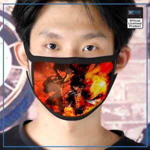 One Piece Face Mask  Ace Strong World OP1505 Default Title Official One Piece Merch