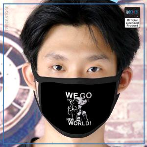 One Piece Face Mask  Luffy Shinsekai OP1505 Default Title Official One Piece Merch