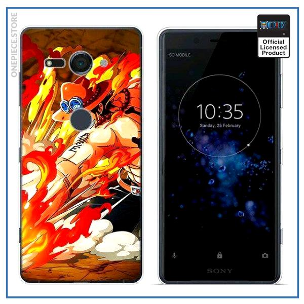 One Piece LG Case  Fire Fist Ace OP1505 Sony Xperia Z5 / Style 11 Official One Piece Merch