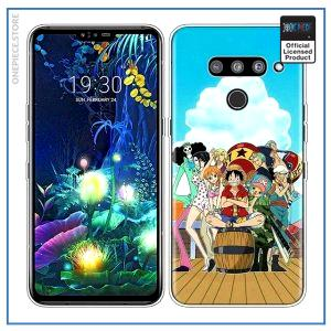 One Piece LG Case  Straw Hat Pirates OP1505 for G7 or G7 ThinQ Official One Piece Merch