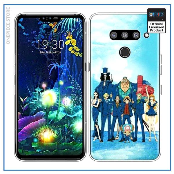 One Piece LG Case  Straw Hat Crew OP1505 for LG V30(V30 Plus) Official One Piece Merch