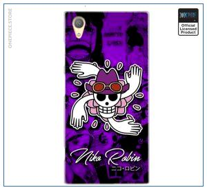 One Piece Sony Case  Robin Jolly Roger OP1505 for Sony Z5 Premium Official One Piece Merch