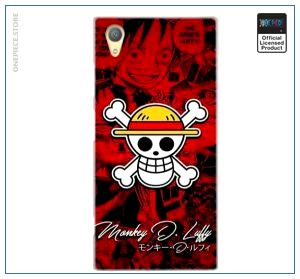 One Piece Sony Case  Straw Hat Jolly Roger OP1505 for Sony C4 Official One Piece Merch