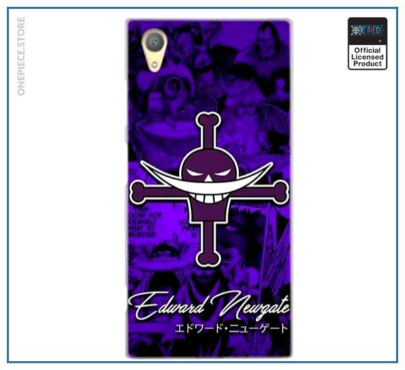 One Piece Sony Case  Whitebeard Jolly Roger OP1505 for Sony XZ2 Official One Piece Merch