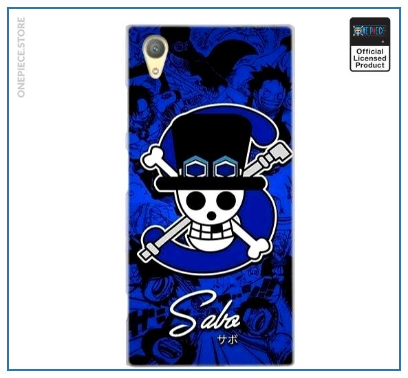 One Piece Sony Case  Sabo Jolly Roger OP1505 for Sony XA1 Plus Official One Piece Merch