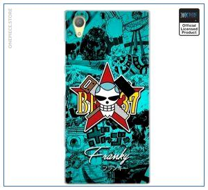 One Piece Sony Case  Franky Jolly Roger OP1505 for Sony E5 Official One Piece Merch