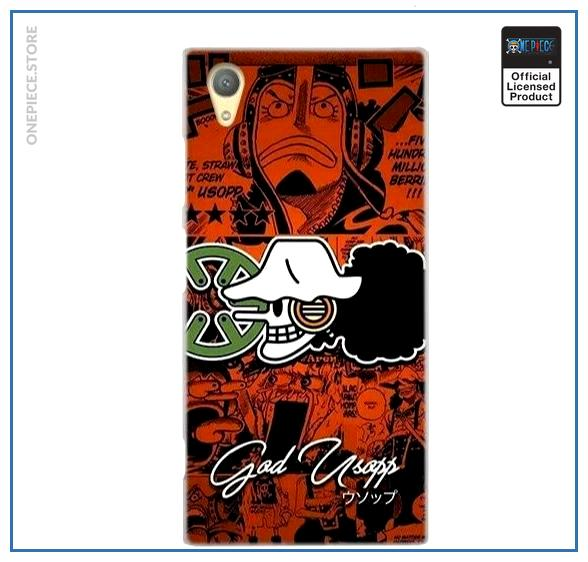 One Piece Sony Case  Usopp Jolly Roger OP1505 for Sony XR or XZS Official One Piece Merch
