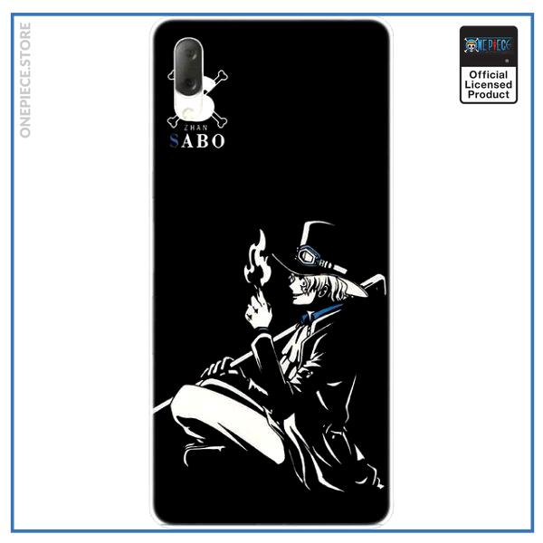 One Piece Sony Case  Sabo OP1505 Sony Xperia XA1 Plus Official One Piece Merch