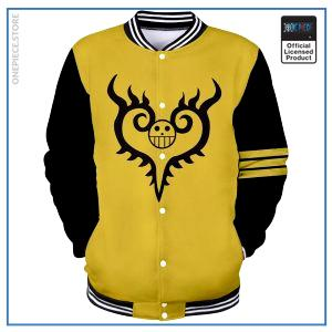 One Piece Varsity Jacket  Surgeon of Death OP1505 S Official One Piece Merch