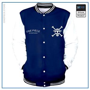 One Piece Varsity Jacket  Straw Hat Pirates OP1505 S Official One Piece Merch