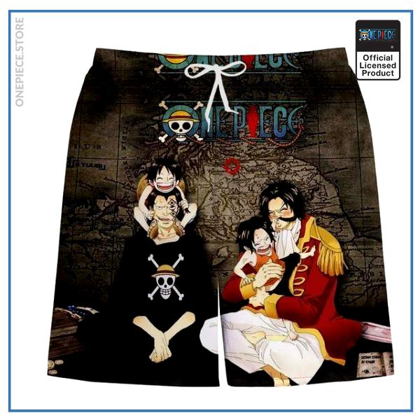 One Piece Swim Short  Father & Sons OP1505 S Official One Piece Merch